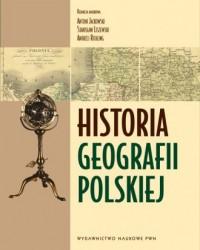 Historia geografii polskiej - okładka książki