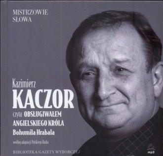Kazimierz Kaczor czyta Obsługiwałem - pudełko audiobooku