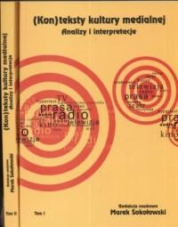 (Kon)teksty kultury materialnej. - okładka książki