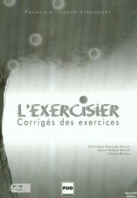 Lexercisier corriges des exercices - okładka książki