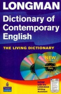 Longman Dictionary of Contemporary English with book (+ CD) - okładka książki