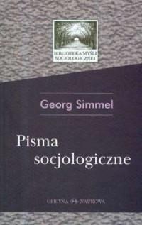 Pisma socjologiczne - okładka książki