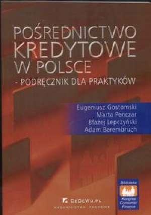 Pośrednictwo kredytowe w Polsce - okładka książki