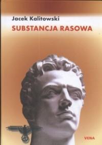 Substancja rasowa - okładka książki