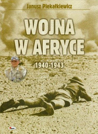 Wojna w Afryce 1940-1943 - okładka książki