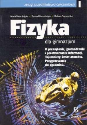 Fizyka 3. Gimnazjum. Zeszyt przedmiotowo-ćwiczeniowy - okładka podręcznika