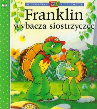 Franklin wybacza siostrzyczce - okładka książki