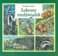 Łakomy niedźwiadek - okładka książki