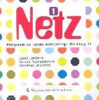 Netz 1. Język niemiecki. Klasa 4. Szkoła podstawowa. Podręcznik (CD) - okładka podręcznika
