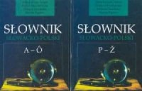 Słownik słowacko-polski Tom 1 i 2 - okładka książki