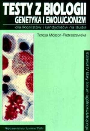 Testy z biologii dla licealistów - okładka książki