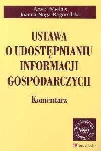 Ustawa o udostępnianiu informacji gospodarczych. Komentarz - okładka książki