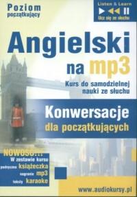 Angielski na mp3. Konwersacje dla początkujących (CD mp3) - okładka podręcznika