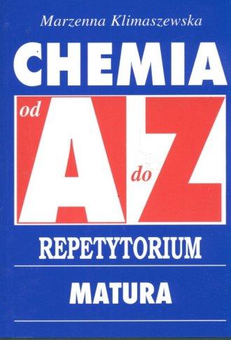chemia od a do z - marzanna klimaszewska