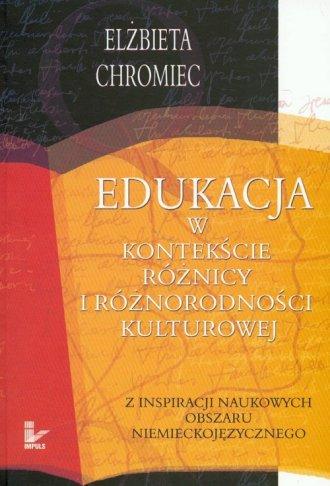 Edukacja w kontekście różnicy i - okładka książki