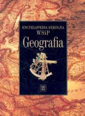 Encyklopedia szkolna. Geografia - okładka podręcznika