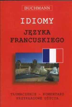Idiomy języka francuskiego - okładka podręcznika