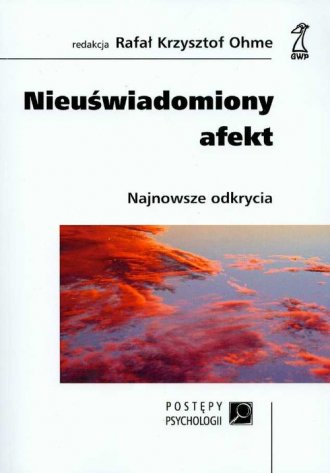Nieuświadomiony afekt - okładka książki