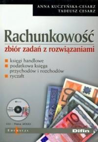Rachunkowość. Zbiór zadań z rozwiązaniami (+ CD) - okładka książki