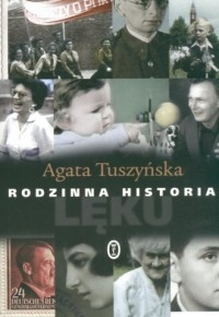 Rodzinna historia lęku - okładka książki