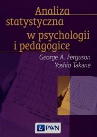 Analiza statystyczna w psychologii i pedagogice - okładka książki