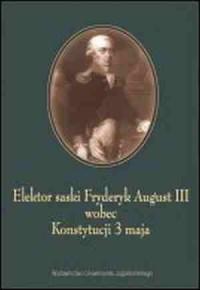 Elektor Saski Fryderyk August III - okładka książki