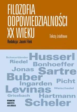 Filozofia odpowiedzialności XX - okładka książki