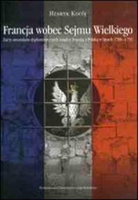 Francja wobec Sejmu Wielkiego - okładka książki