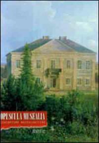 Opuscula Musealia. Zeszyt 12 - okładka książki