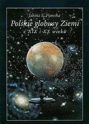 Polskie globusy Ziemi z XIX i XX - okładka książki