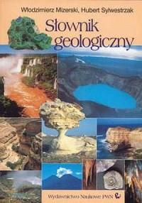 Słownik geologiczny - okładka książki