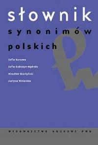 Słownik synonimów polskich - okładka książki