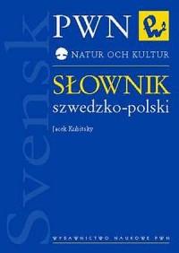Słownik szwedzko-polski - okładka książki