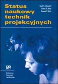 Status naukowy technik projekcyjnych - okładka książki