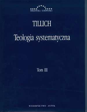 Teologia systematyczna. Tom III. - okładka książki