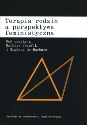 Terapia rodzin a perspektywa feministyczna - okładka książki