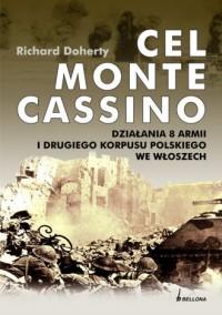 Cel Monte Cassino. Działania 8 - okładka książki