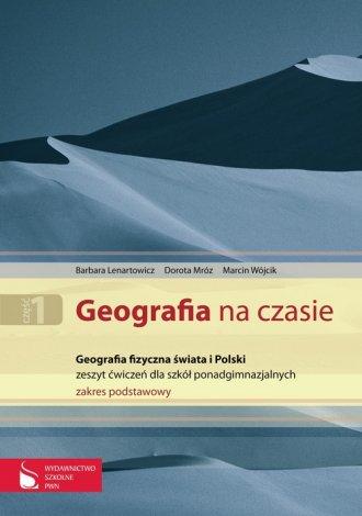 Geografia na czasie cz. 1. Geografia - okładka podręcznika