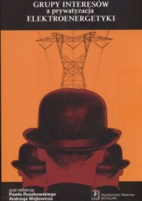 Grupy intersów a prywatyzacja elektroenergetyki - okładka książki