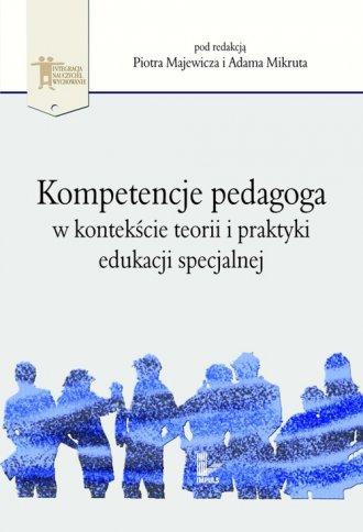 Kompetencje pedagoga w kontekście - okładka książki