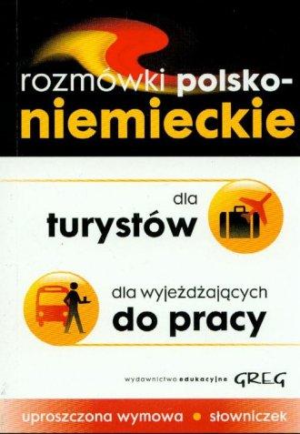 Rozmówki polsko-niemieckie dla - okładka podręcznika