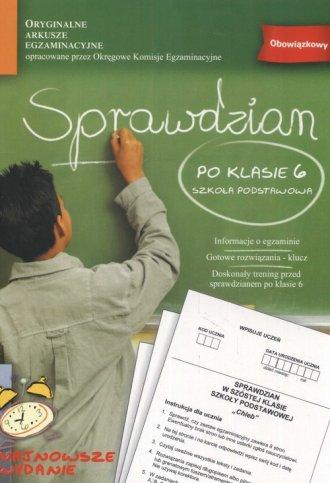 Sprawdzian po klasie 6. Szkoła - okładka podręcznika