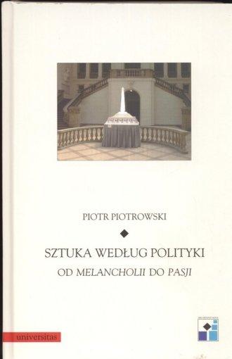 Sztuka według polityki - okładka książki
