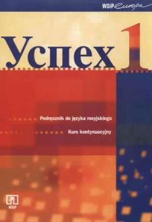 Uspiech 1. Kurs kontynuacyjny języka - okładka podręcznika