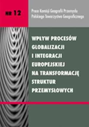 Wpływ procesów globalizacji i integracji - okładka książki
