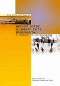Wybrane usługi a jakość życia mieszkańców - okładka książki