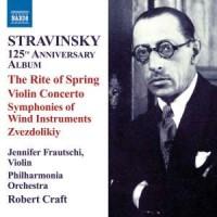 125th Anniversary Album - The Rite of Spring, Violin Concerto (CD) - okładka płyty