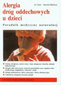 Alergia dróg oddechowych u dzieci - okładka książki
