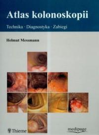 Atlas kolonoskopii - okładka książki