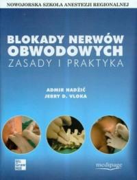 Blokady nerwów obwodowych - okładka książki